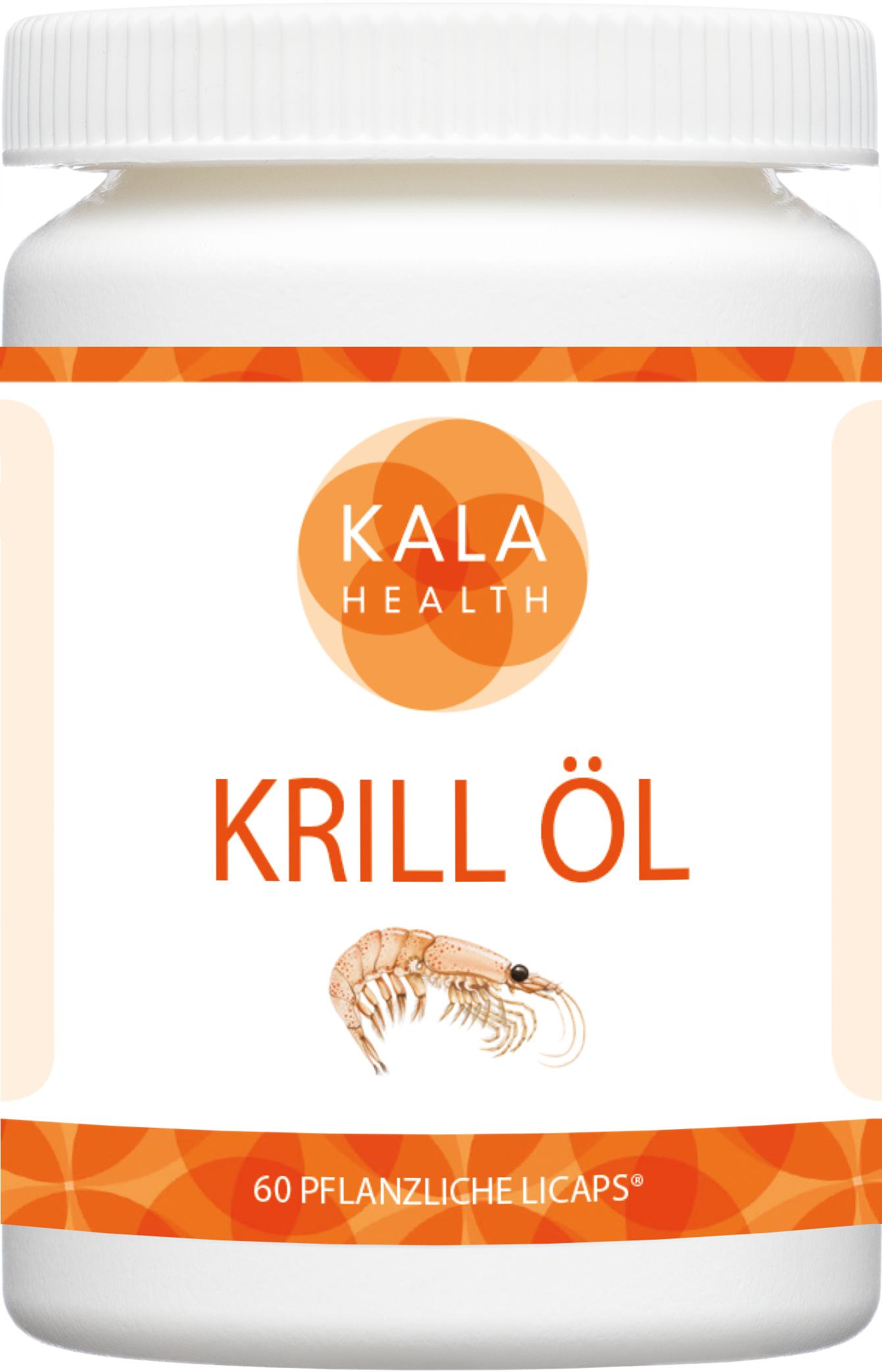 Rimfrost Krill Öl 60 pflanzliche Licaps