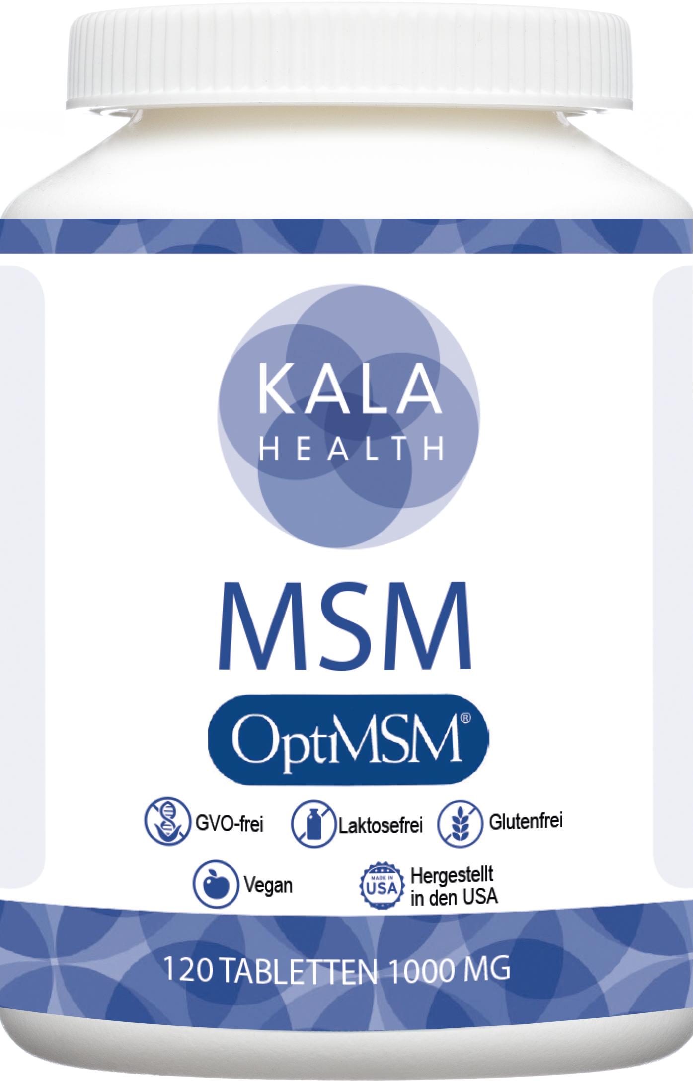 OptiMSM® 120 Tabletten, 1000 mg