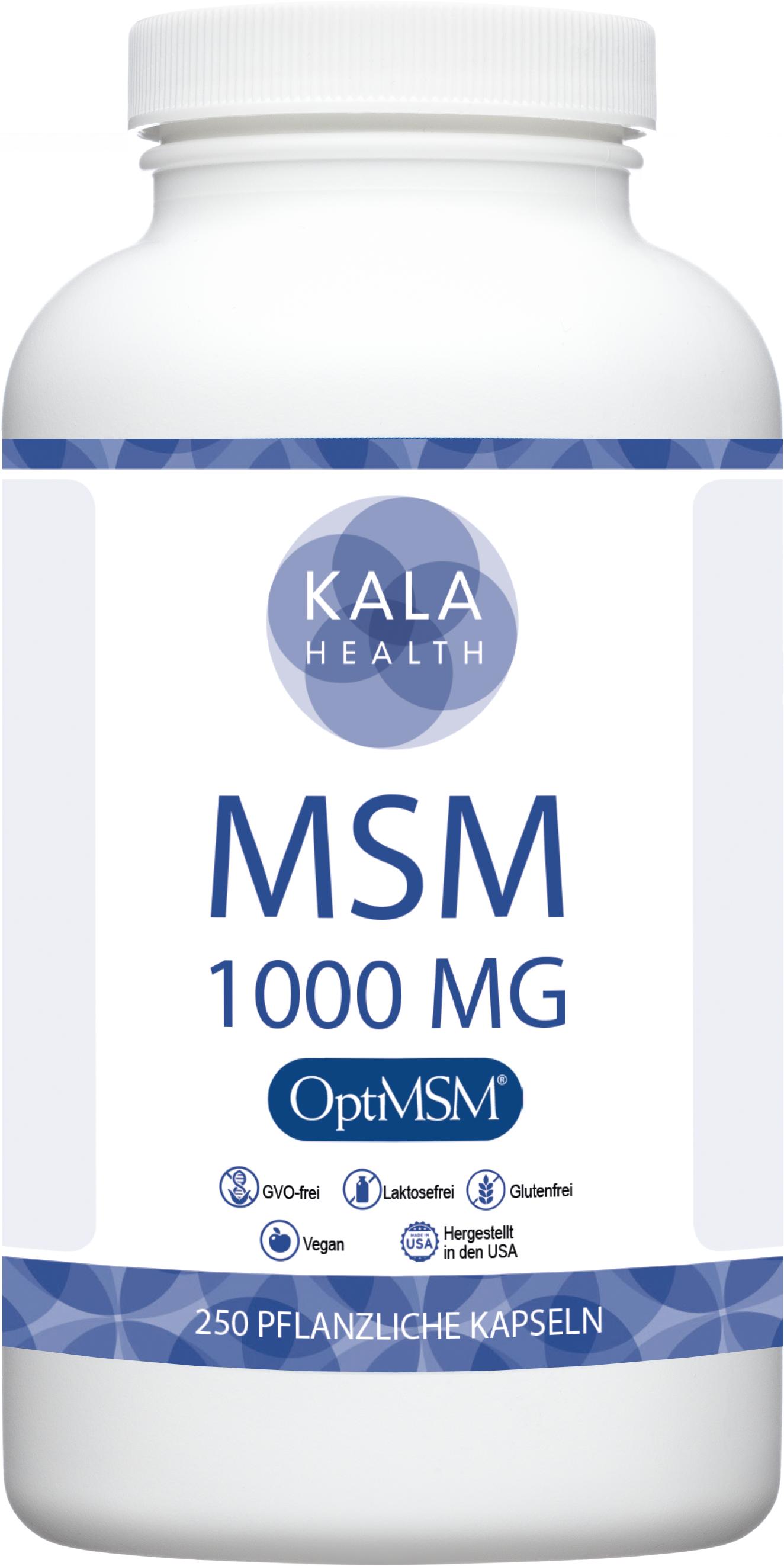 OptiMSM® 250 Kapseln 1000 mg